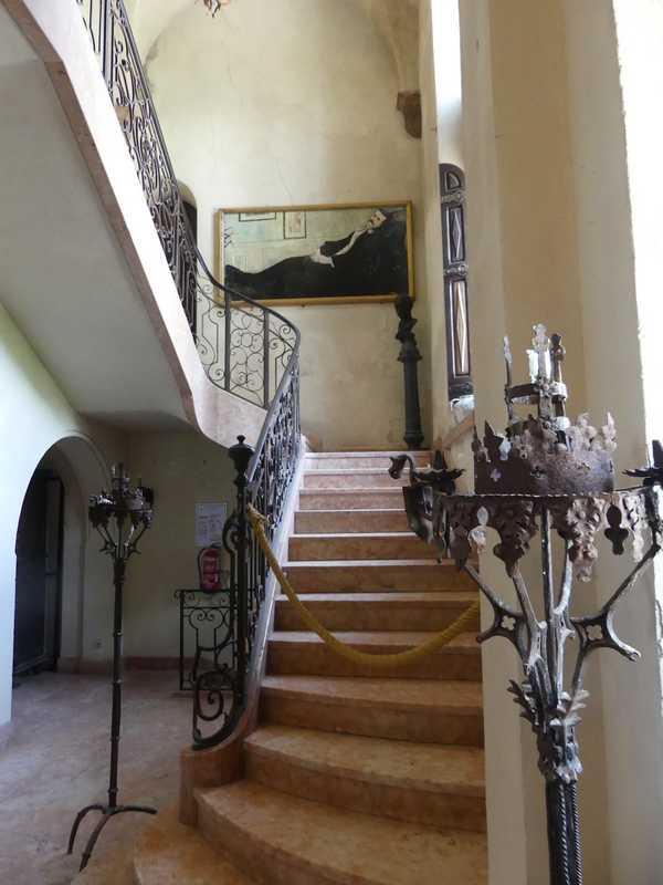 Le premier étage est réservée à la famille d' Henry et Marie Clews