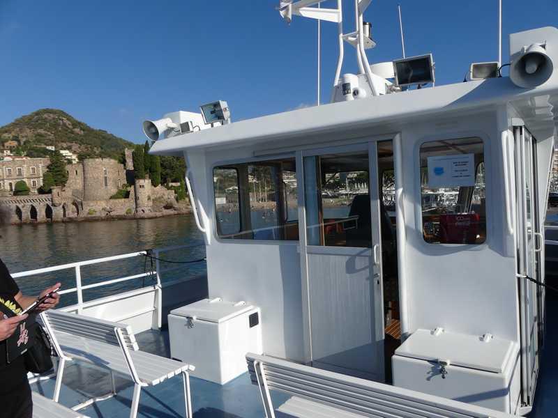Faire la traversée depuis le port de Mandelieu-La Napoule