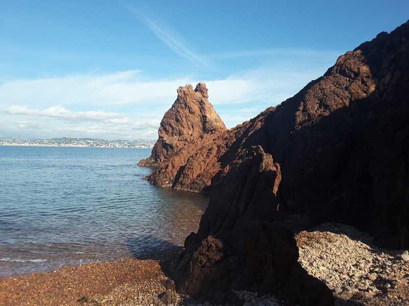 Pointe de l'aiguille Théoule-sur-mer