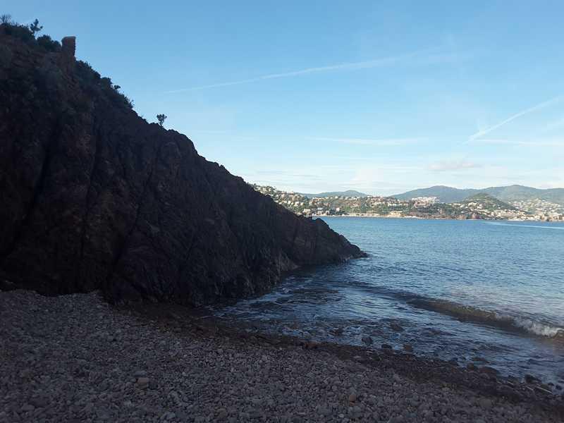 La pointe de l'aiguille Théoule-Sur-Mer