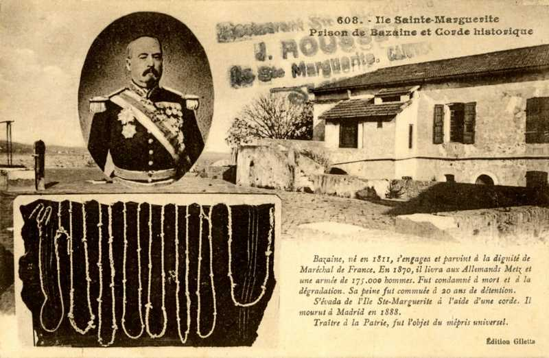 ile sainte marguerite prison du marechal Bazaine