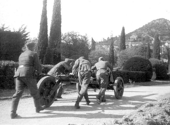 le château de la Napoule sous l occupation