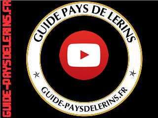 guide pays de Lérins youtube